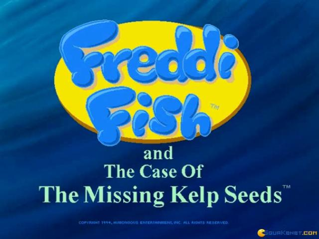 Freddi Fish and the Case of the Missing Kelp Seeds - title cover