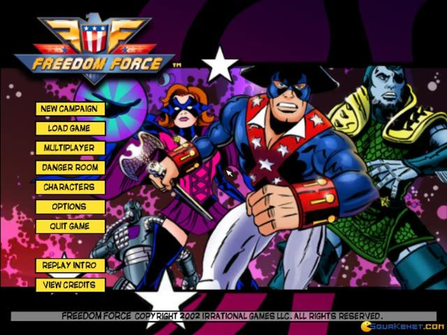 Freedom Force - game cover