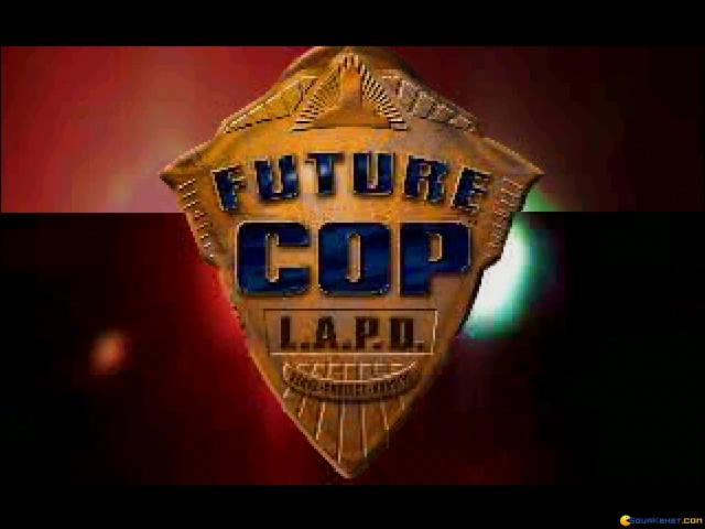 Future Cop LAPD - game cover