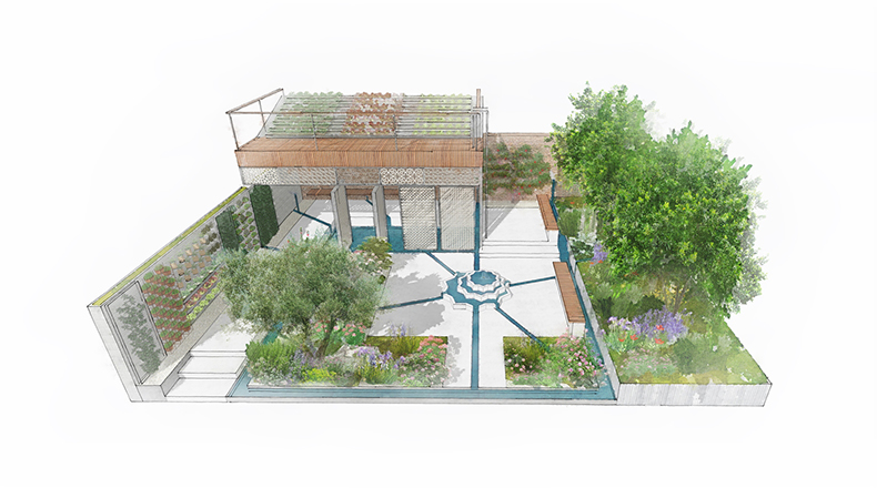 Sgd members announce chelsea show gardens garden design for Garden design amazon