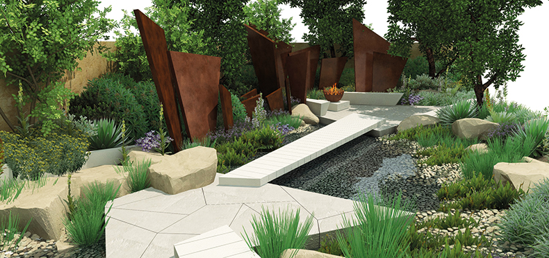 Rhs chelsea flower show 2016 andy sturgeon s telegraph for Chelsea flower show garden designs