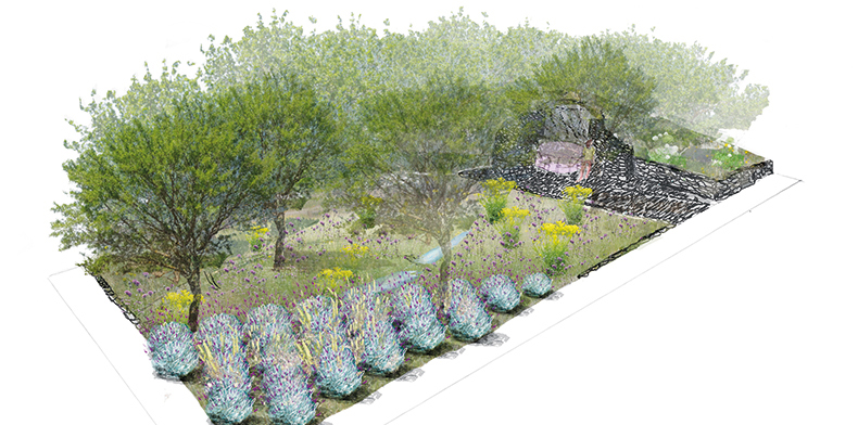 Rhs chelsea flower show 2016 l occitane garden design by for Chelsea flower show garden designs