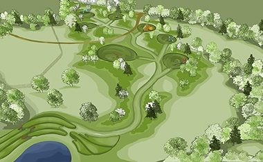 Tom Hoblyn develops new oak arboretum