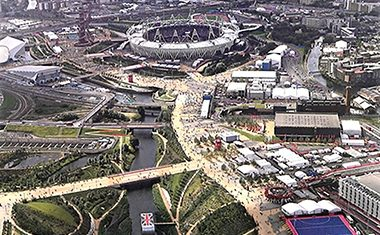 Gold for Olympic landscape firm