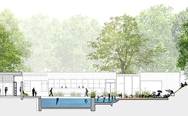 New lido for London