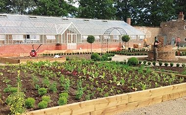 Restored glasshouse opens up north
