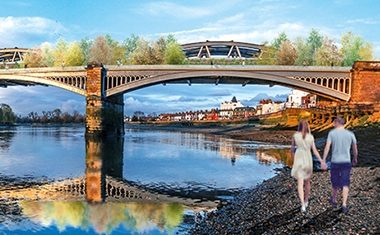 Listed bridge to be Thames Promenade