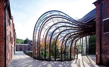 Project: Heatherwick's Laverstoke Mill glasshouses