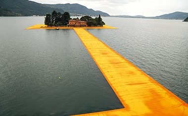 Project: Christo's Floating Piers, Italy