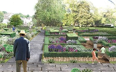 New garden for Holyroodhouse