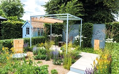 Creating privacy in gardens