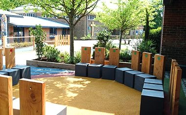 Project: School prayer garden