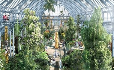 Temperate House restored