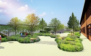 Swift designs new Horatio's Garden
