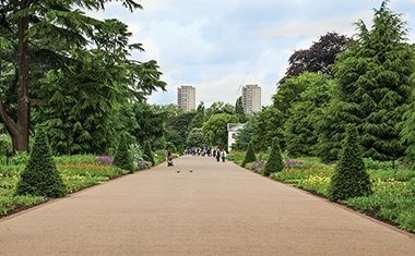 Project: Kew's Great Broad Walk