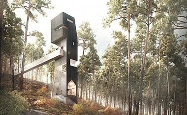 New lookout tower for Inverewe
