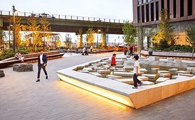 Project: Water Plaza