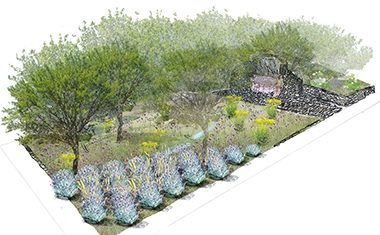 RHS Chelsea Flower Show 2016 : L'Occitane Garden design by James Basson