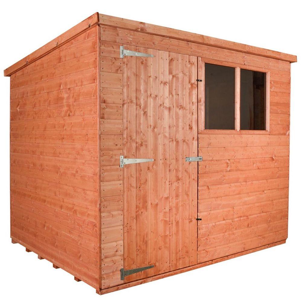 wooden shed workshop pent model a