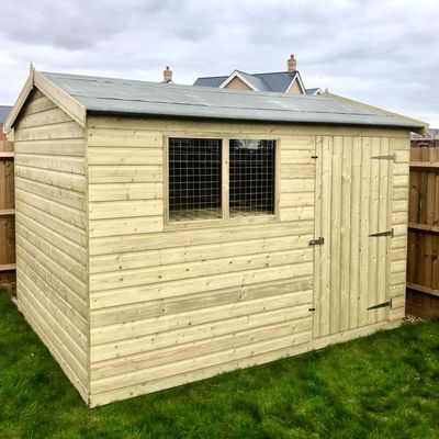 Tanalised Garden Shed Titan 2 Apex G