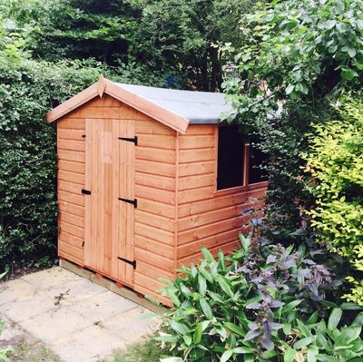 Wooden Tool Shed Apex I