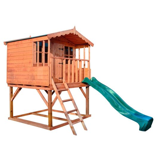 Playhouse Tower with Slide
