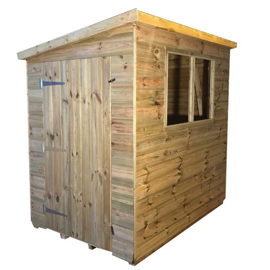 Tanalised Garden Shed Titan 1 Pent E