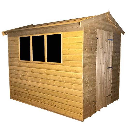 Tanalised Garden Shed - TITAN 2 Apex I