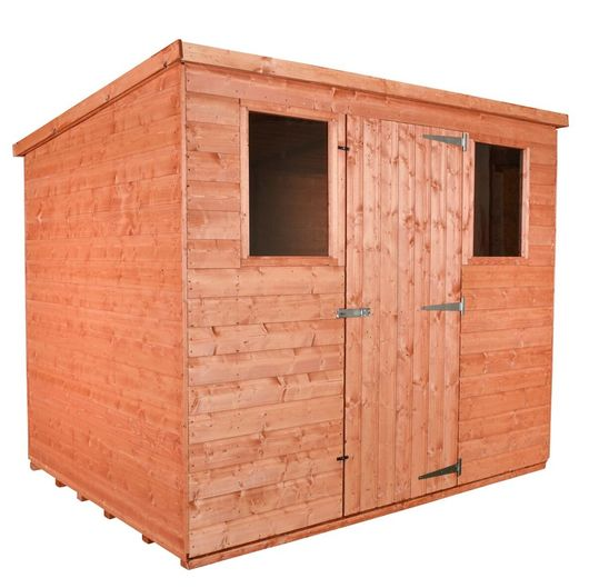 Wooden Shed Workshop Pent Model C