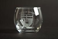 Glass Barrell Tea Light Holder, Black Casket Box