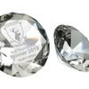100mm GLASS DIAMOND PAPERWEIGHT