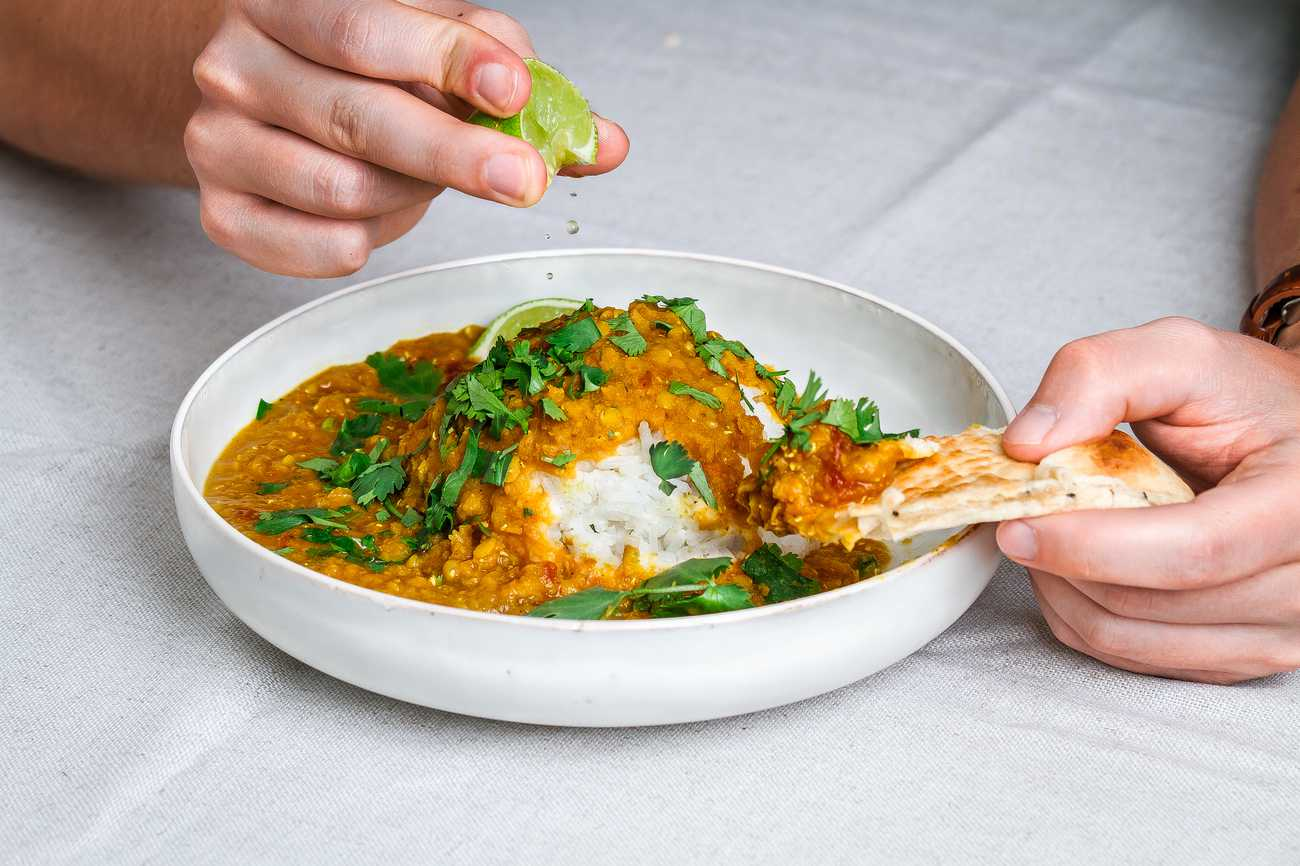 Slow-Cooked Indisk Dal