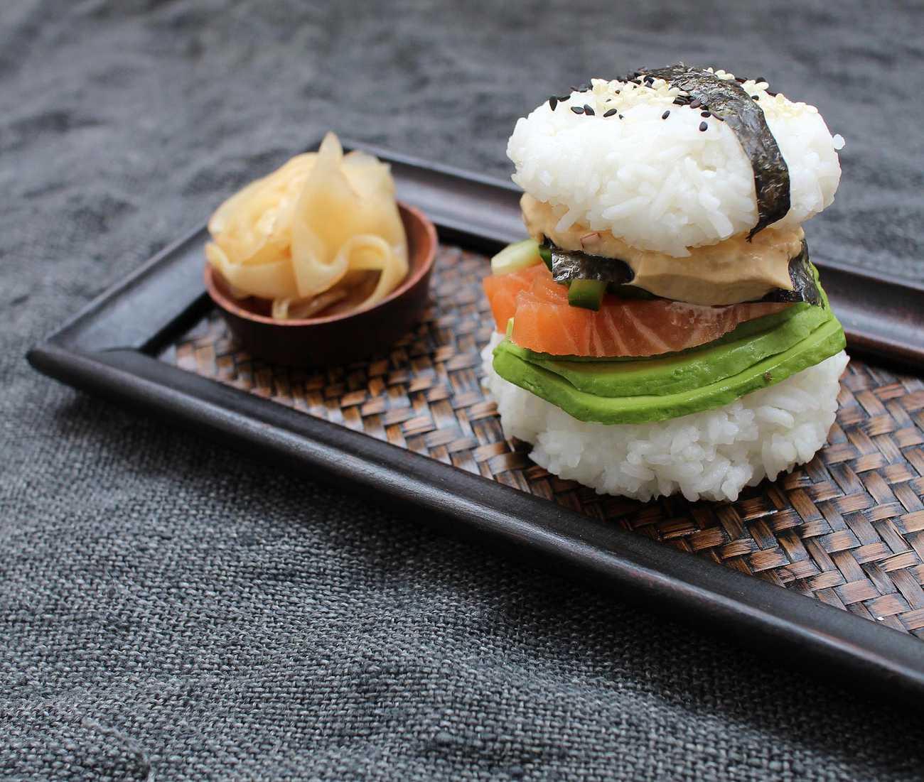 Sushi-burgare