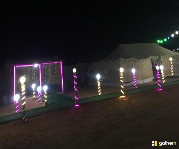 مخيم اضواء الشمال قسم 2