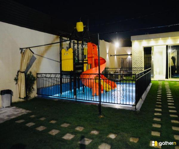 شاليه بمسبح و ألعاب مائية (5) (كود 6660)