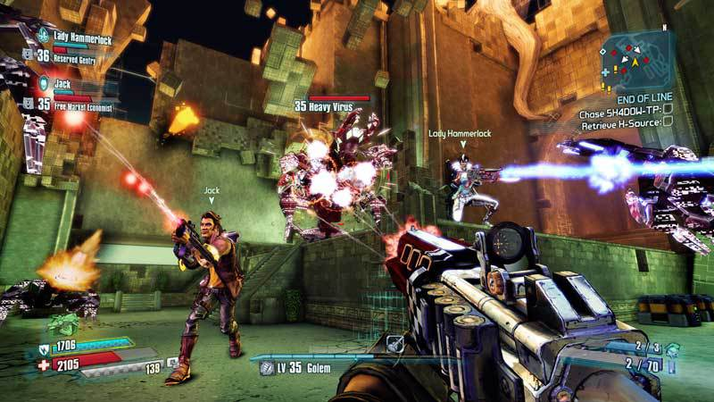 Picture of Borderlands The Pre-Sequel: Claptastic Voyage and Ultimate Vault Hunter Upgrade Pack 2 (DLC)