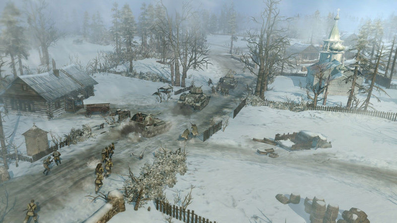 Coh 2 Case Blue : Pictures of the eastern front returns in coh dlc