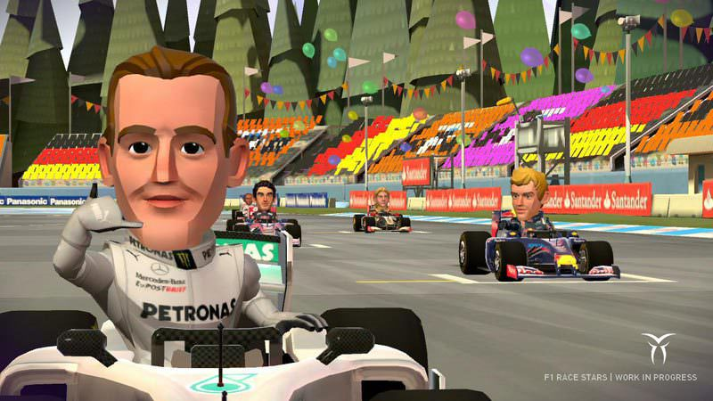 Picture of F1 Race Stars