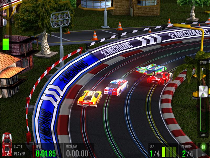 Picture of HTR+ Slot Car Simulation