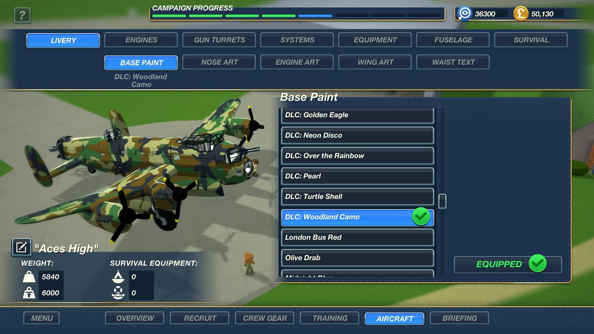 Picture of Bomber Crew Skin Pack