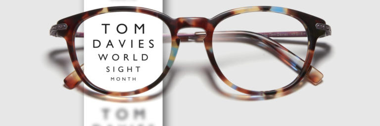 World Sight Month Tom Davies offer