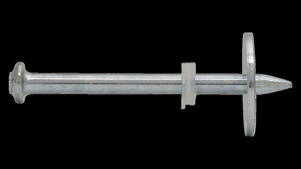 Clavo C8 con arandela metálica Ø20 mm