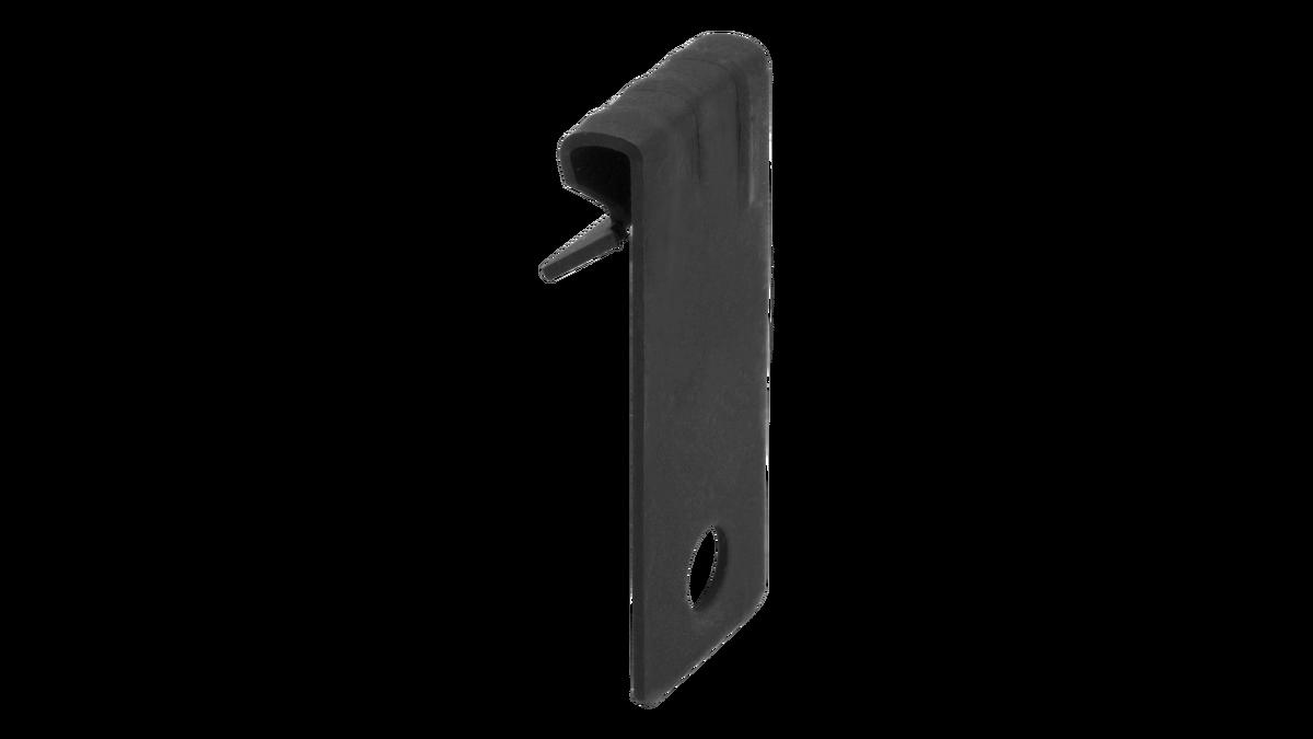 Clip vertical para varilla lisa Ø4