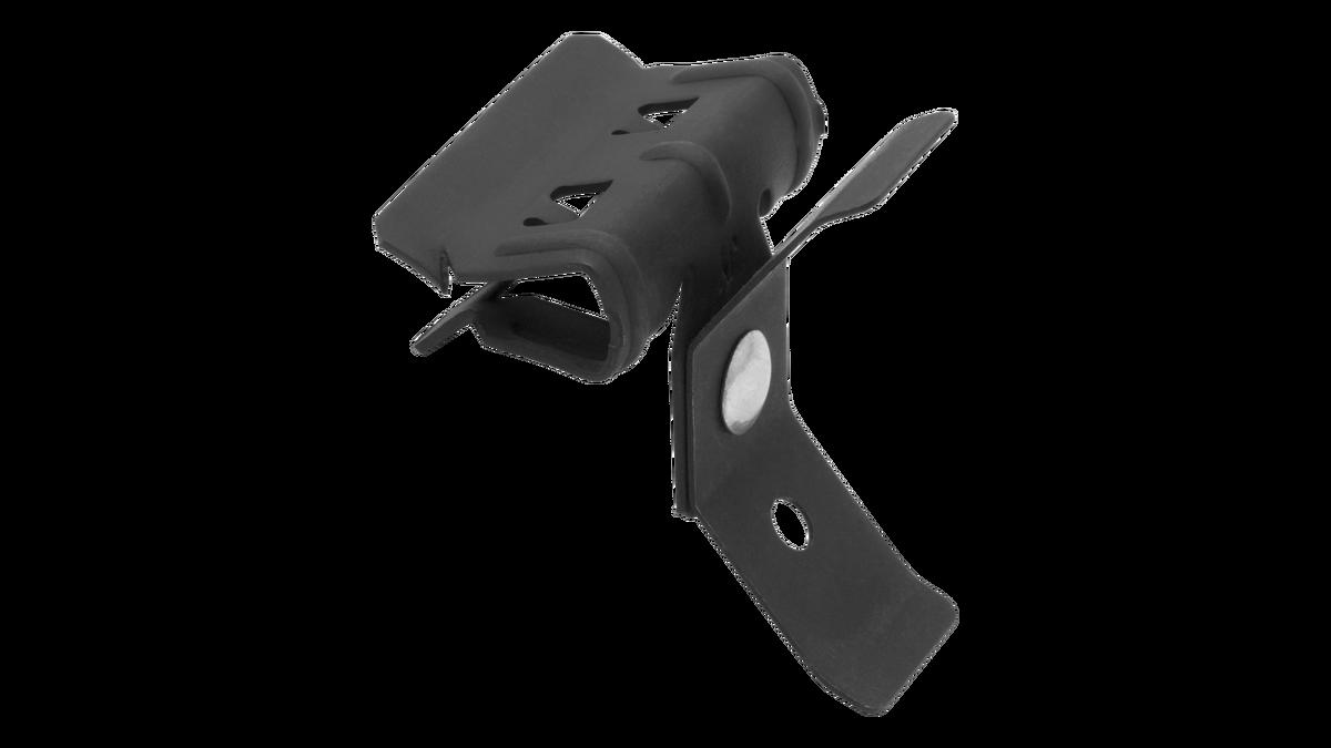 Clip horizontal con regulador para varilla lisa Ø4