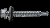 Tornillo broca DIN 7504-K con arandela