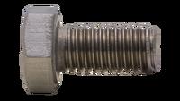 Tornillo presión DIN 933 inox A2