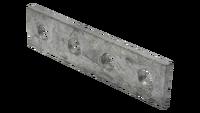 Placa unión Strut