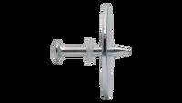 Clavo C8 con arandela metálica Ø35 mm