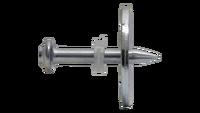 Clavo C8 con arandela metálica Ø25 mm