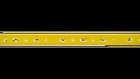 Carril plastificado 23 x 11 amarillo